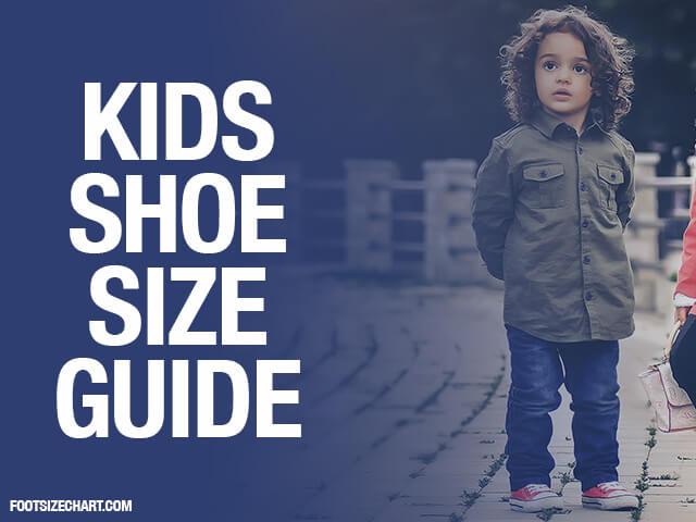 kids youth shoe sizes