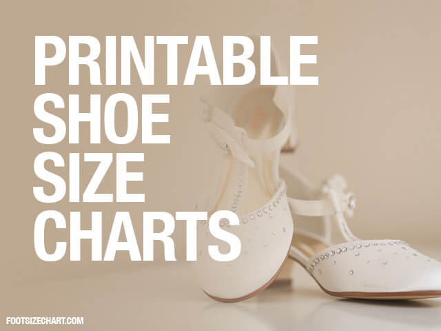 graphic about Printable Shoe Size Chart Women's referred to as Printable Shoe Dimension Chart » Obtain Print PDF